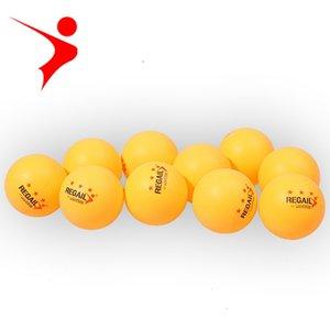 GEGAIL 100 pçs / lote 3 Estrelas Novo Material branco orange Bolas De Tênis De Mesa 40mm Ping Pong Bolas De Treinamento