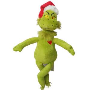 """15"""" / 39cm Dr Seuss Comment le Grinch a volé Noël avec le Père Noël Chapeau Jouets en peluche Nouveau Livraison gratuite de haute qualité"""