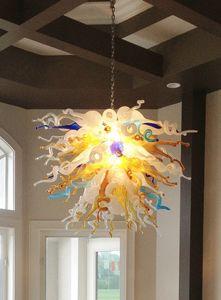 Casa Flor Pingente Lustre Outstanding Art Design Artesanato de Vidro Soprado Lustres Quentes para Quarto Sala de estar l