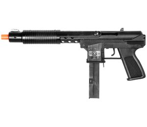 AIRSOFT BAHAR TEC 9 TAM BOYUTLU POMPA SHOTGUN PISTOL TABANCA EL HATTI w / 6mm BB BBs