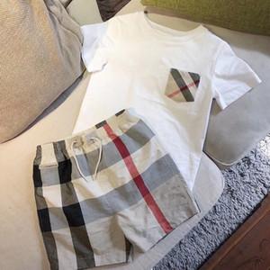 2018 Hot Brand Kinder Sommer Jungen Kleidung Cartoon Hübsche Kinder Jungen Kleidung Set T-shit + Pants Baumwolle