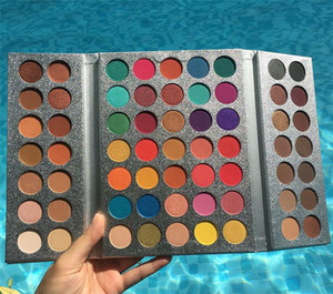 In magazzino !! Hot Makeup Beauty Lustrato 63 colori Eyeshadow Palette Gorgeous Me ombretto vassoio Eye cosmetici Top quality DHL libero