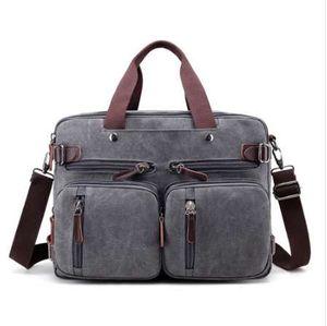 """Zaino per laptop da 17 """"Zaino per laptop da uomo con tracolla 14 17.3 pollici Elegante borsa per notebook 3 in 1 elegante nera nera blu"""