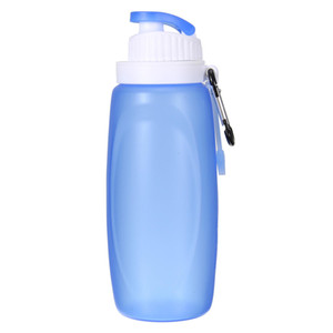 Flexible water bottle 320ML Collapsible Silicone Foldable Soft Water Bottle Outdoor Sports Travel Hiking folding silicone water bottle