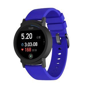 Sostituzione piccolo polso della cinghia del silicone Per Ticwatch Strap E Wristband della fascia del braccialetto del Wristband Smartwatch Accessori