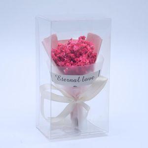 Accessoires avec cadeau de main couleur fleurs séchées herbe de cristal mini bouquet décoration événement cadeaux