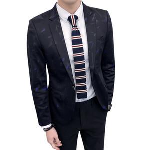 IFRICH пиджак мужчины повседневная плед Slim Fit мода Blazer мужской простой стиль с длинными рукавами Весна горячие продажа пальто Jaquetas Homens