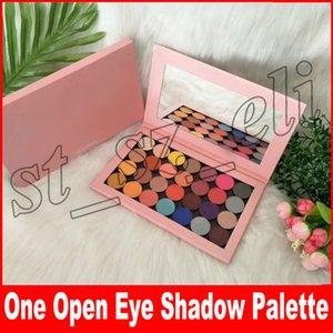 Neue Make-up eine offene Palette Leere große Palette 28 einzelne Schatten schimmern matt und satin Schatten