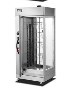 poêle à canard rôti poêle à poulet rôti four à porc chauffe automatique rotatif machine à rôtir automatique commerciale
