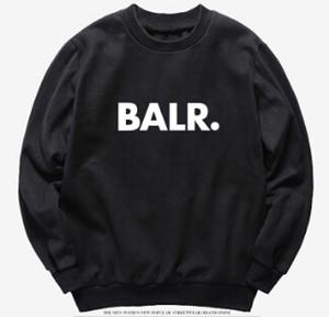 أزياء الرجال هوديس ملابس بلايز ربيع الخريف البلوفرات مقنع بلوزات عارضة BALR الأعلى