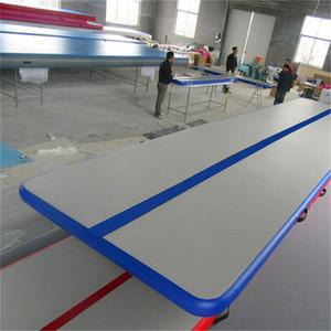 Envío gratis 8m Air Track Tumbling Mat Inflable Gimnasia Airtrack Para practicar gimnasia, Tumbling, Parkour, piso y artes marciales