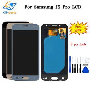 Per Samsung Galaxy J5 Pro 2017 J530 J530F Display LCD con Touch Screen Digitizer Assembly Luminosità regolabile