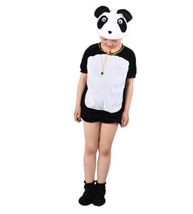 2018 New style children Cosplay Gigante panda lion Pink Elephant Animal realizar ropa Niños y niñas Dance Conjoined clothes ZX10-17