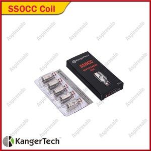 기존 Kanger SSOCC 코일 헤드 0.2ohm 0.5ohm 1.2ohm 1.5ohm 교체 용 kangertech Mini Subvod Nebox 키트 100 % Original