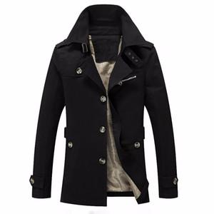 Designer Veste d'hiver Mode pour hommes coupe-vent imperméable qualité militaire Veste Manteau Marque Vêtements Armée Plus Size 5XL