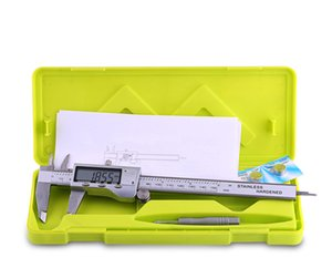 Calibro a corsoio digitale in acciaio inossidabile HXC Calibro digitale a corsoio in acciaio inossidabile 0-150mm