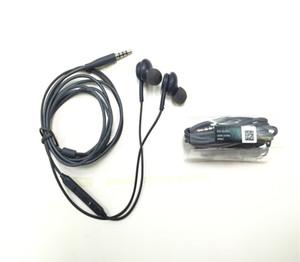 سماعة أذن مع مايكروفون وتحكم بحجم 3.5 ملم بواجهة AKG لجهاز Samsung Galaxy S7 S6 iPhone 6 plus مع وظيفة الاتصال