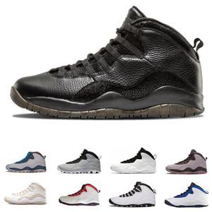 Hot venda 10 10s Cemen tênis de basquete da sapatilha para homens Grey linces zapatos zapatos SAPATA homens caminhando respirável esporte melhor fornecedor