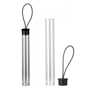 Yeni Sıcak Şeffaf Plastik Tüp Ambalaj Depolama PVC PP Tüpler için 92A3 CE3 G2 TH205 Vape Yağ Kartuşları ile Konteynerler tel