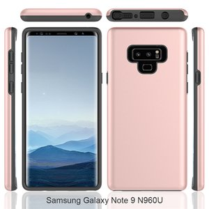 Para Samsung Galaxy Note 9 Choque Caso Proof LG Stylo 4 k4 2017 apple iphone x caso Dual Layer Choque Anti híbrido de telefone celular