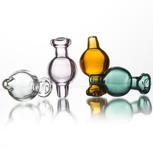 Glass Carb Cap Bubble Air Hole For Domeless Quartz Bnager Nail Flat Bowl Club Quave Glass Nails Bong Water Pipe Dab Rig