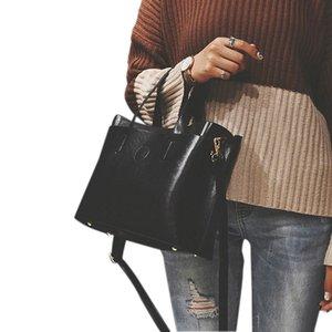 FGGS Women Bag Handbag Tote Over Shoulder Crossbody Autumn Winter Leather Big Letter Casual