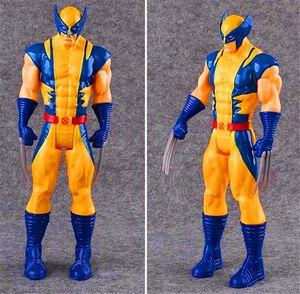 The Avengers PVC Actionfiguren Marvel Heros 30cm Iron Man Spiderman Captain America Ultron Wolverine Figur Spielzeug