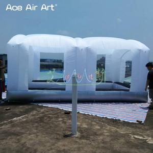 2018 أحدث المحمولة نفخ مصغرة رذاذ كشك ، رذاذ محطة العمل المحمولة سيارة خيمة غرفة اللوحة للبيع والإيجار المصنوعة في الصين