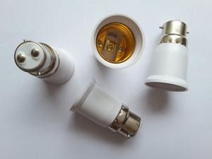 E40 B15 B22 G9 G24 GU10 ao titular E27 Lamp Converter Ferro Metade Cerâmica Círculo Screw Boca Plástico Conversão soquete