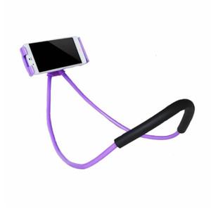 Soporte perezoso universal de 360 grados de rotación Flexible teléfono Selfie Holder Snake-como cuello cama montaje antideslizante para iPhone Android