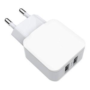 Accesorios de teléfono móvil USB dual puerto universal cargador de pared dual usb para iPhone