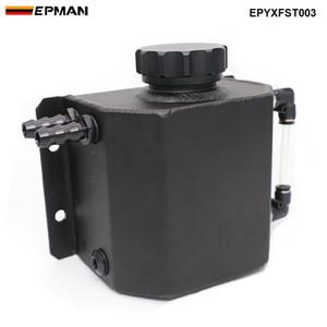 Evrensel 1L Alaşım Alüminyum Motor Yağı Yakıt Gaz Yakalama Can Havalandırma Tankı Şişe Soğutucu Radyatör Taşma Tankı EPYXFST003