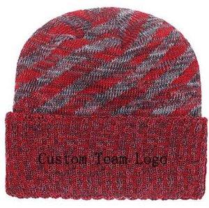 2019 Autunno Inverno cappello uomo donna Cappelli sportivi Custom Knitted Cap Sideline Cappello freddo lavorato a maglia KC Soft Warm Kansas City Beanie Skull Cap
