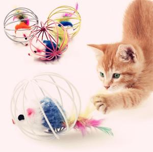 Nuovo Fat giocattoli gatto belle del mouse per Cat cani divertente divertimento giocare contengono giocattoli catnip animale domestico fornisce 100pcs colore misto / lot mouse giocattoli i205