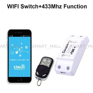 Sonoff 433Mhz Sonoff RF WiFi Interrupteur Sans Fil Smart Home Avec Récepteur RF Télécommande Interrupteur De Synchronisation Intelligent Sans Fil
