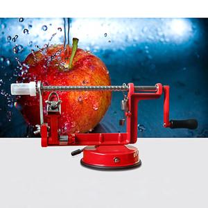 Venta al por mayor de color al azar 1 PCS cocina artesanal automática de mesa de acción giratoria melón Apple Peeler, Corer Slicer