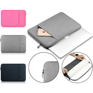 "Laptop Sleeve 13 Inch 11 12 13 de 15 polegadas para MacBook Air Pro Retina Display 12.9 ""iPad Soft Case Capa Bag para Apple Samsung Notebook Sleeve"