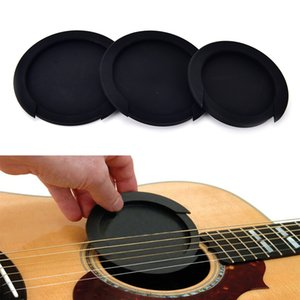 3 tailles Silicone Acoustique Classique Guitare Feedback Feedback Buster Sound Hole Cover Buffer Block Stop Plug Guitare Pièces Accessoires