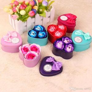 Flor de jabón perfumado Rose Vivid Body Bath Bouquet para la boda de la madre Decoración del día de San Valentín Flores artificiales Venta caliente 2 4mw dd