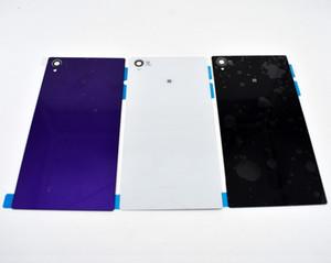 10pcs / lot substituição peças de reposição para Bateria vidro Sony Xperia Z1 L39H C6902 C6903 Back Door carcaça traseira tampa traseira