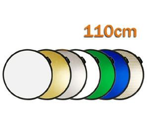 Lightdow 110 см 7 в 1 портативный складной свет круглый фотография отражатель студия мульти диск отражатель студия аксессуары