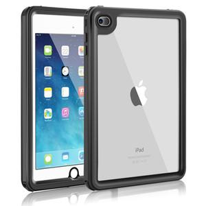 Original For iPad Mini 4 Waterproof Case Shockproof Snow Dust proof For iPad mini 4 7.9 inch Case Cover Skin Black