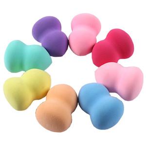 Vôsaidi 5pcs del maquillaje Esponja Fundación Esponja de mezcla impecable de líquidos Cremas y esponjas de maquillaje en polvo color multi