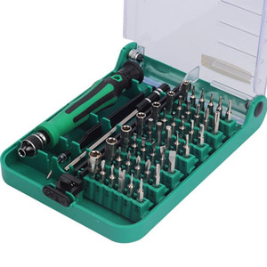 Juego de destornilladores 45 en 1 Juego de herramientas de reparación de extensiones de pinzas intercambiables para la reparación de teléfonos móviles, reparación de electrodomésticos, etc.