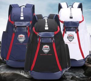 Sacs à dos de basketball New USA USA Team Packs Sac à dos Sacs de grande capacité Formation étanche Sacs de voyage Chaussures Sacs Drop Shipping