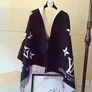 Kinder hohe Qualtiy Marke Schal Brief Muster Frauen Schal W1234 Wolle Seide Designer Schal Schal Damen warme Schals Größe 180x70cm