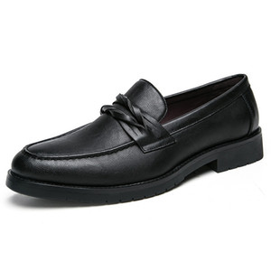 Zapatos de cuero formales italianos para hombres zapatos de oxford de punta puntiaguda para hombres elegantes zapatos de vestir de oficina formales mocasines de cuero zapatos de hombres