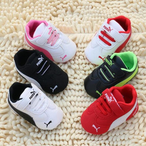 Новая мода осень зима Детская обувь Девочки Мальчик Первый ходунки Новорождённых.Детская Shoes 0-18M обувь первых ходоков