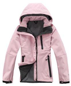 lã-venda quente escudos macio da marca Mulheres 2021 esportes norte-impermeável casaco à prova de vento rosto respirável outdoor jaqueta frete grátis N2
