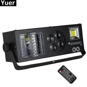 DJ Equipment 4 In1 лазерная вспышка Стробная балка диско освещает DMX512 Светодиодное освещение диско диском-этап света четырех функций Эффект освещения